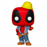 Фигурка Funko POP Marvel Deadpool 30th – Construction Worker (Exc) (54688)