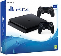 Sony PlayStation 4 1TB Slim + геймпад