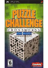 Puzzle Challenge Crosswords and More! (PSP)