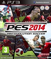 Pro Evolution Soccer 2014 (PS3) (GameReplay)