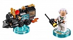 Скриншот LEGO Dimensions Fun Pack - Back to the Future (Doc Brown, Traveling Time Train), 2