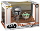 Фигурка Funko POP Star Wars: Mandalorian Moment – Mandalorian & Child (49930)