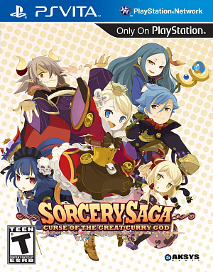 Sorcery Saga: Curse of the Great Curry God (PSVita)