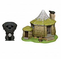 Фигурка Funko POP Town: Harry Potter – Hagrid's Hut w/ Fang