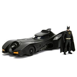 Машина с фигуркой Jada Toys – Batmobile W/Batman Figure (масштаб 1:24) (98260)