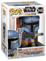 Фигурка Funko POP Star Wars: Mandalorian – Heavy Infantry Mandal (45540)