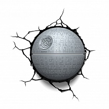 3D светильник StarWars - Death Star