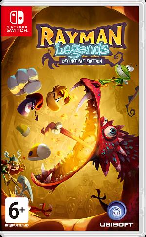 Rayman Legends: Definitive Edition (Switch) фото