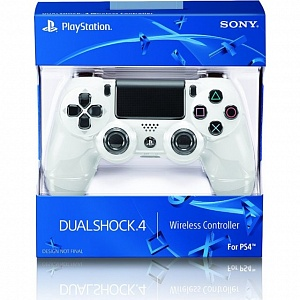 ������� ������������ Sony DualShock White (CUH-ZCT1E)