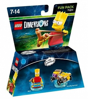 LEGO Dimensions Fun Pack - The Simpsons (Bart, Gravity Sprinter)