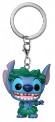 Брелок Funko Pocket POP Lilo & Stitch – Stitch In Hula Skirt (Exc) (38331)