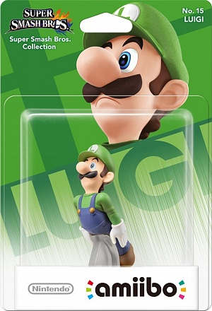 Amiibo: Super Smash Bros Collection Luigi
