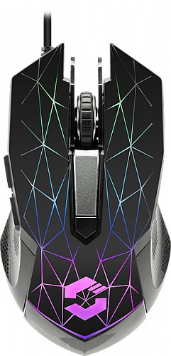 Проводная мышь Speedlink Reticos RGB Gaming Mouse (Black) фото