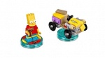 Скриншот LEGO Dimensions Fun Pack - The Simpsons (Bart, Gravity Sprinter), 1