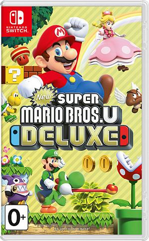 New Super Mario Bros. U Deluxe (Nintendo Switch) фото