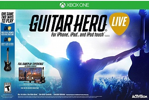 Guitar Hero Live Bundle Гитара + игра (XboxOne)
