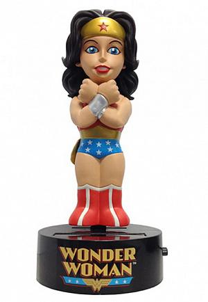 Фигурка на солнечной батарее Wonder Woman (15 см)