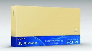 Custom Faceplate Золотая (PS4)