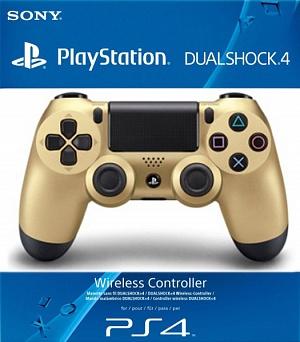 Геймпад Sony DualShock золотой v2 (CUH-ZCT2E)