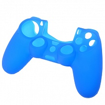 Silicone Cover для Dual Shock 4 Blue (PS4)