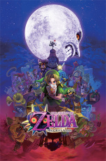 Постер Maxi Pyramid – Nintendo: The Legend Of Zelda (Majora's Mask) (61 x 91 см)