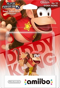 Amiibo: Super Smash Bros Collection Diddy Kong