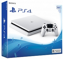 Sony PlayStatyion 4 Slim 500 Gb Glacier White