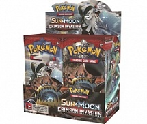 "Pokemon Sun and Moon ""Crimson Invasion"". Бустер SM4 BST"
