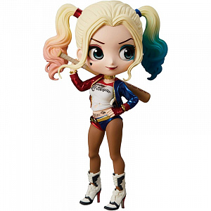 Фигурка Q Posket Suicide Squad – Harley Quinn (A Normal color)