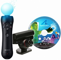PlayStation Move Starter Pack без полиграфии (PS3)