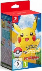 Набор: игра Pokemon: Let's Go, Pikachu! + аксессуар PokeBall Plus (Nintendo Switch)