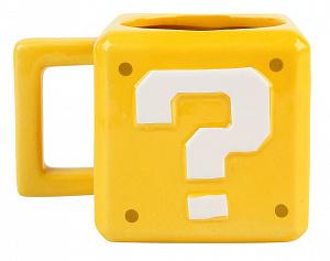 Кружка Paladone – Super Mario Question Block Mug фото