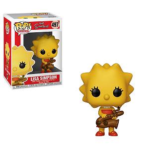 Фигурка Funko POP Simpsons: Lisa-Saxphne
