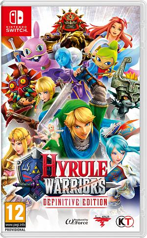 Hyrule Warriors: Definitive Edition (Nintendo Switch) фото