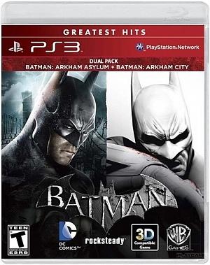 Batman: Arkham Asylum + Batman: Arkham City - Dual Pack 1-�� ����������, 2-�� ������� ������ (PS3)