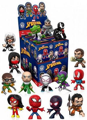 Фигурка Funko Mystery Minis: Marvel: Spider-Man Classic: (1шт.) 13795 фото