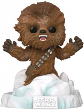 Фигурка Funko POP Deluxe Star Wars – Chewbacca: Battle at Echo Base (FL) (Exc) (49755)