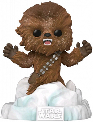 Фигурка Funko POP Deluxe Star Wars – Chewbacca: Battle at Echo Base (FL) (Exc) (49755)