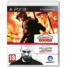2в1 Splinter Cell: Double Agent + Rainbow Six Vegas (PS3)