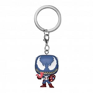 Брелок Funko POP Marvel's Venom – Captain America фото