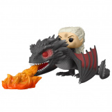 Фигурка Funko POP Rides: Game of Thrones – Daenerys on Fiery Drogon