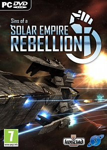 Sins of Solar Empire: Rebellion (Jewel-case)