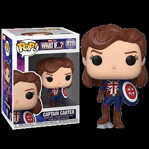 Фигурка Funko POP! Bobble Marvel What If Captain Carter 55811 (56938)