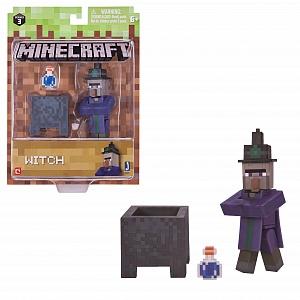 MINECRAFT- Ведьма с аксессуарами