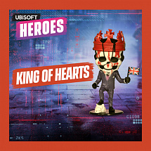Фигурка Ubisoft Heroes – King Of Hearts
