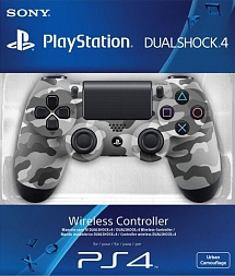 Controller Wireless Dual Shock 4 Urban Camouflage