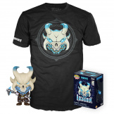Набор Фигурка + Футболка Funko POP and Tee: Fortnite – Ragnarok (43127) (размер L)