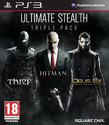 Ultimate Stealth Triple Pack (Thief, Hitman Absolution, Deus Ex Human) (PS3)