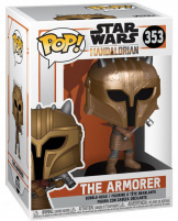 Фигурка Funko POP Star Wars: Mandalorian – The Armorer (45546)