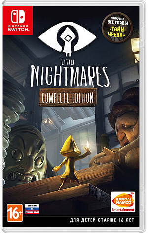 Little Nightmares. Complete Edition (Nintendo Switch) фото